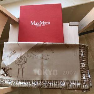 AUTHENTIC MAXMARA 2007 TOKYO SCARF